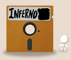 Little Inferno Diskette