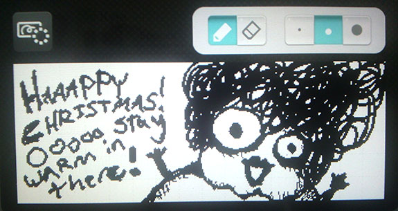 Miss Nancy Christmas MiiVerse
