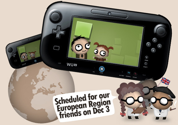 Wii U European Region Friends Release Date