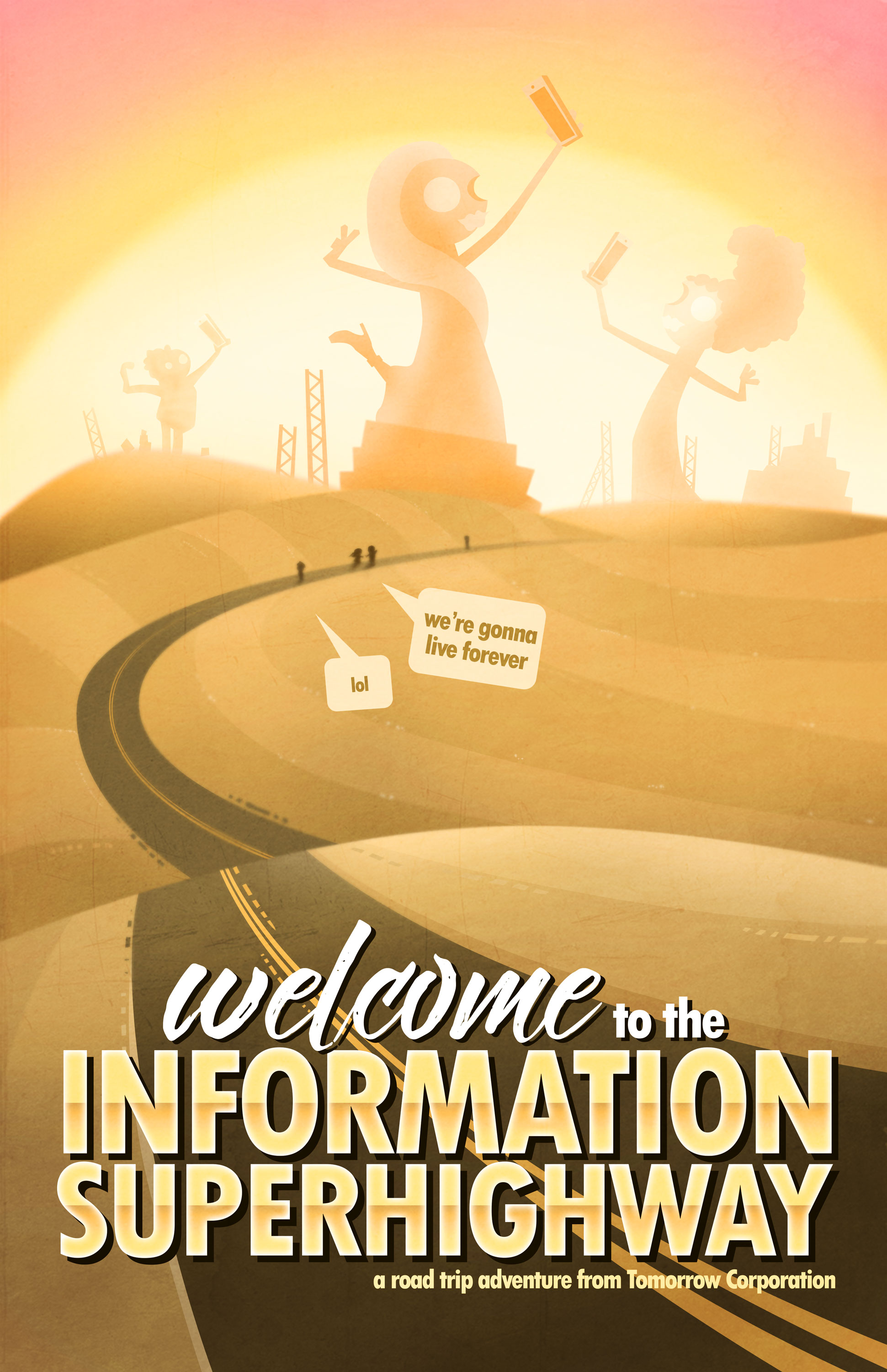 Welcome to the Information Superhighway - Yellow