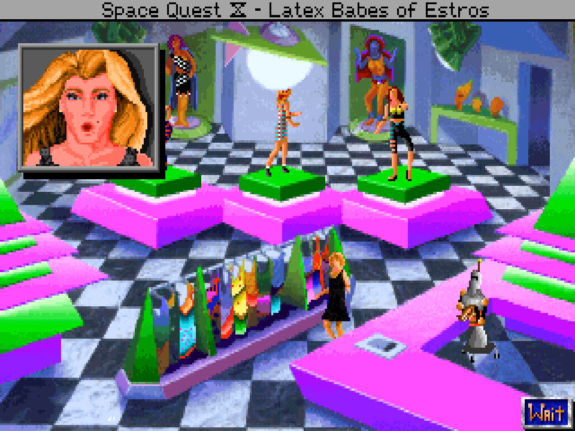 We here at Tomorrow Corporation also grew up playing Space Quest!